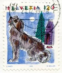 great stamp Helvetia 120c dog (Hund, chien, koer, σκύλος, koira, kutya, perro, כלב, 狗, كلب, anjing, 개, cane, 犬, pas, suns, šuo, สุนัข, hond, pies, cão, câine, köpek, пас, собака, pes, kelb) Switzerland timbres Suisse Swiss bollo Schweiz Briefmarke (stampolina, thx for sending stamps! :)) Tags: stamps helvetia swiss switzerland schweiz postage porto briefmarke postetimbre timbres francobolli bollo bolli sello selo timbre sellos briefmarken 邮票 yóupiào марка timbru pulu dog hund chien koer σκύλοσ koira kutya perro כלב 狗 كلب anjing 개 cane 犬 pas suns šuo собака สุนัข hond pies cão câine köpek пас pes kelb blue blau bleu azzur color colour colorful colourful animal zeichnung painting svájc سويسرا швейцария 瑞士 šveits suisse svizzera スイス