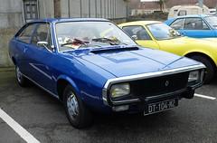 RENAULT 15 bleue (xavnco2) Tags: bourse exposition voitures anciennes arras 2017 pasdecalais france classic car show meeting autos automobile coupé renault 15 r15 bleue blue