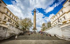 Duke of York Column (Daniel Zwierzchowski) Tags: duke york column london eos550d eos 550d 1022mm canon t2i rebel architecture architektura people stairs statue travel natgeo natgeotravel wide angle