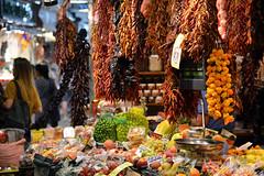 Barcelona Market Stall (Colin McLurg) Tags: laboqueria foodmarket barcelona colinmclurg spain catalunya lasramblas
