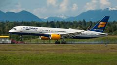 TF-FIA - Icelandair - Boeing 757-256 (bcavpics) Tags: canada vancouver plane airplane britishcolumbia aircraft aviation boeing yvr 757 airliner icelandair tffia bcpics