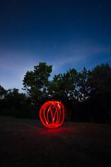 Tomato Night (FiPremo) Tags: light canon stars europe italia blu luci rosso lombardia 6d stellata