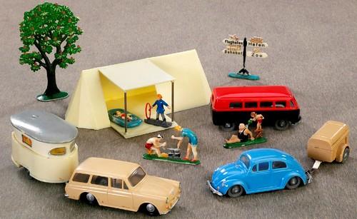 Siku VW in campeggio