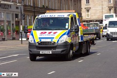 Iveco daily Glasgow 2014 (seifracing) Tags: rescue cars cat scotland cops traffic britain transport scottish police security vehicles research british trucks van emergency spotting services recovery strathclyde scania brigade ecosse seifracing