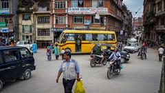 Улицы Катманду, Непал