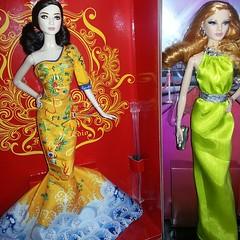 Barbie Collectors Fan BingBing & Barbie The Look Red Carpet Louboutin (angelnetracarroll) Tags: dolls barbie 2014 louboutin fanbingbing barbiecollector bfcm june2014 barbiefanbingbing