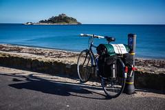 St Michael's Mount (tomsbiketrip.com) Tags: uk travel england bike bicycle tour free adventure journey cycle freegan freelejog