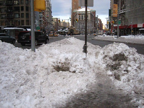 snow newyork day upperwestside clowdy uws