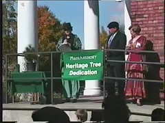 Heritage Tree dedication, 1996 (Seattle Municipal Archives) Tags: seattle trees films 1990s speeches dedications urbanforestry heritagetree seattlemunicipalarchives