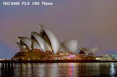 Sydney Opera House at night (JimBoots) Tags: australia newsouthwales therocks