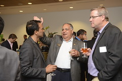 "Good stories and good cheer shared: Sanjay Singhal, Raj Phalpher, Rick Stomphorst • <a style=""font-size:0.8em;"" href=""https://www.flickr.com/photos/124986169@N08/14465203627/"" target=""_blank"">View on Flickr</a>"
