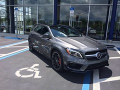 """At Fields Motorcars in Lakeland, Florida. """"Highlighted by the most powerful 4-cylinder production engine in the world, the all-new 2015 GLA45 AMG is equipped to live up to life's high expectations—then blow past them. That's because its AMG high-performan (fieldsmotorcars) Tags: auto city news cars love car tampa mercedes benz bay post haines florida fort 14 group gainesville like july automotive vehicles mercedesbenz fields vehicle sarasota suv lakeland luxury desoto clearwater 2014 caladesi motorcars at 0126pm fieldsmotorcars wwwfieldsmotorcarscom httpwwwfacebookcompagesp219305421438768 glapacked httpswwwfacebookcomphotophpfbid699080040127968seta6990799967946391073741834219305421438768type1 httpsscontentaxxfbcdnnethphotosfrc3t109104871906990800401279682985634953152397715njpg"""