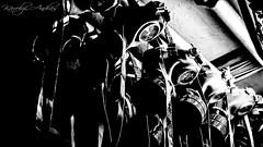 Gasmask (andraskarolyi) Tags: old bw white black history dark hungary factory budapest lot olympus communism gasmask shelter weiss manfred antiaircraft csepel e420