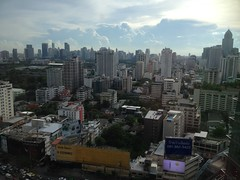 Bangkok from 28th floor