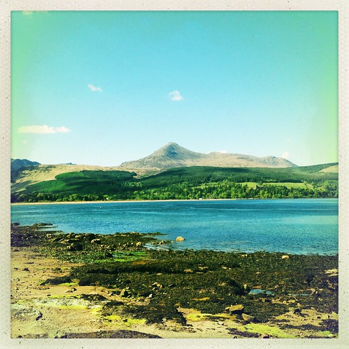 View of Goatfell (Arran)