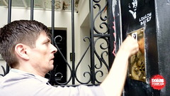Collage et peinture sur le mur du 5bis rue de Verneuil  Paris (Pegasus & Co) Tags: life urban streetart paris art colors painting graffiti stencil paste arts menatwork worldwide memory rue mur birdy gainsbourg musique vie artistes  urbain tarek ambiance quartierlatin  mmoire  verneuil   urbart ruedeverneuil  yarps   ernestonovo    matlebull