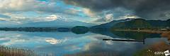 A-n-y-C-o-l-o-u-r-Y-o-u-L-i-k-e (AnthonyGinmanPhotography) Tags: panorama mountains japan volcano mtfuji yamanashi kawaguchiko novoflex olympus1454mmf28 olympuse30