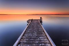 Too many details (Michael Blyde) Tags: longexposure seascape texture water sunrise landscape dawn pier colours jetty australia wharf nsw centralcoast wharscape michaelblydecom seascapephotographercom