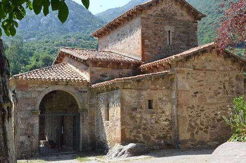 Lebeña (Cantabrie), église mozarabe - 04