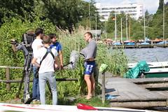 Videoteam der NDR im Camp D (klaeui) Tags: badsegeberg campd
