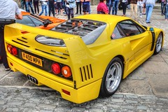Ferrari F40 (alancookson) Tags: liverpool ferrari supercar f40 fujixm1