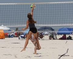 Gulf Shores Beach Volleyball Tournament (Garagewerks) Tags: woman beach girl sport female court sand all child gulf sony sigma tournament volleyball shores f28 70200mm views50 views100 views200 views250 views150 slta77v