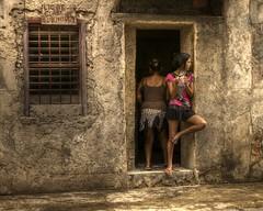 Streets of Havana Centro - Cuba (IV2K) Tags: street sony havana cuba centro gritty doorway cuban habana hdr kuba lahabana vedado rx1