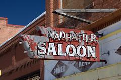 20140708_3172 (Tom Spaulding) Tags: old sign bar vintage montana neon mt lounge tavern signage saloon put bigtimber bigtimbermt madhattersaloon