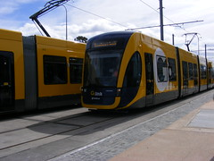 The G: Opening Day ! (TimBo's pics) Tags: trams southport surfersparadise bombardier goldcoast broadbeach theg lightrailvehicle glink gclr goldcoastlightrail goldlinq