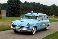 1954 Studebaker Commander Conestoga Ambulet Ambulance (DVS1mn) Tags: station wagon estate ambulance limousine hearse stationwagon estatewagon estatecar shootingbrake professionalcars professionalcarsociety longroof
