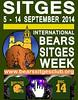 Bear sites week 2014 (Pride and Circuit) Tags: bear gay oso bears pride event evento week homosexual kedada circuit sitges cataluña quedada 2014 osos ositos