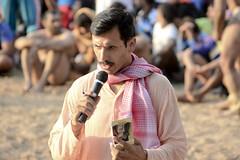Announcing the winners ([s e l v i n]) Tags: india men sports fight village muscle wrestling talk battle speaker mic fighting punjab combat speak wrestle indianmen kushti indianwrestling pehlwan selvin indiankushtiwrestling