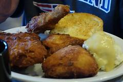 Chicken Dinner at Country Pride 7-27-14 (anothertom) Tags: food chicken brooklyn dinner restaurant iowa truckstop interstate80 countrypride travelcentersofamerica exit197 sonyrx100ii