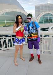 SDCC 2014 D3 - 255 (Cutterin) Tags: dc san comic cosplay spaceinvader diego wonderwoman joker con 2014 cutterin sdcc2014 sandiegocomiccon2014