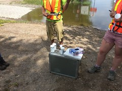 MVCA water sampling for MOE at Bonnechere[4]