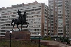 Voroshilov and Lugansk Apartments (Randy, Dingo & Panga) Tags: ukraine lugansk kliment voroshilov
