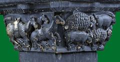 Reconciliation of Jacob and Esau - Camels, sheep and goats (petrus.agricola) Tags: rebecca jacob isaac capital piemonte cloister sanctus aosta chiostro ursus esau santorso