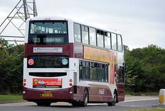 883 (Callum's Buses & Stuff) Tags: bus buses volvo edinburgh gemini lothian madder lothianbuses gemini2 edinburghbus b9tl sherifhall madderandwhite madderwhite