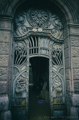 Entrance to... (freshandfun) Tags: door old tourism secession romania arad