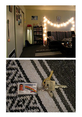 (t-nary) Tags: white digital canon studio keys lights diptych keychain apartment border bookshelf livingroom frame rug bookcase stringlights superbad mclovin