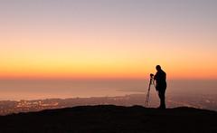 waking up.. (UndaJ) Tags: sunrise landscape scotland edinburgh lothian