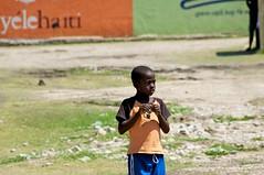 little guy (JP Theberge) Tags: art haiti amputees challengedathletes