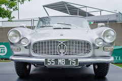 1957-1964 Maserati 3500 GT Touring (el.guy08_11) Tags: france voiture collection 1957 lemans touring maserati paysdelaloire