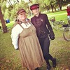 "Members of the Clockwork Alchemy Tea Society ""tweam"" 2013. #tweedride #tweedrideto #tweed #vintagebike #yyz #toronto #edwardian #victorian • <a style=""font-size:0.8em;"" href=""https://www.flickr.com/photos/127251670@N02/15069298232/"" target=""_blank"">View on Flickr</a>"
