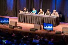 Roosterteeth Panel (liqdseoul) Tags: lumix panel voigtlander panasonic nokton roosterteeth f095 175mm paxprime dmcgx7 paxprime2014