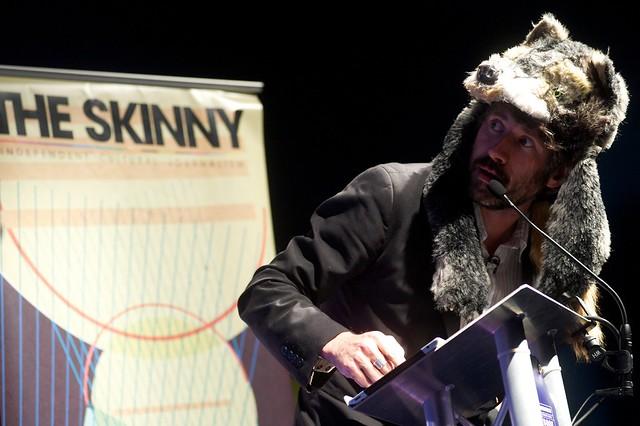 Gruff Rhys at The Edinburgh International Book Festival