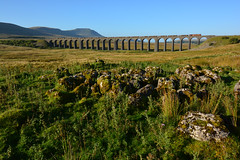 Clints And Grikes (Feversham Media) Tags: yorkshire freighttrains nationalparks northyorkshire sheds dbs yorkshiredales ribbleheadviaduct ribblehead class66 settlecarlisle settlecarlislerailway limestonecountry yorkshiredalesnationalpark battymoss dbschenker railwayviaducts 660025