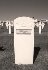 Lucien Hesse - Serre-Hébuterne military cemetery (OJ58) Tags: cemetery rip headstone worldwarone ww1 1915 starofdavid wargraves restinpeace zouave thesomme mortpourlafrance ww1wargraves frenchwargraves ww1centenary frenchcolonialgrave jewishsoldiersgrave frenchww1graves frenchww1wargraves serrehebuternemilitarycemetery ww1frenchgrave 1stzouaves frenchzouaves