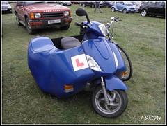 Nippi 50 Scooter (Alan B Thompson) Tags: suffolk transport picasa olympus trike 2014 henham sp590uz