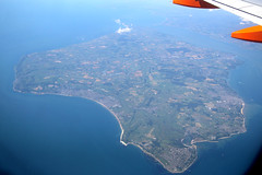 Isle Of Wight Overview, June 23rd 2014 (Suburban_Jogger) Tags: isleofwight solent windowview cowes shanklin easyjet windowseat sandown ryde airbusa319 gezbg ezy8224